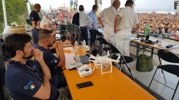 [TGR] MD SYSTEMS ed MC-TECH Israele inseme per la sicurezza del Jova Beach Party